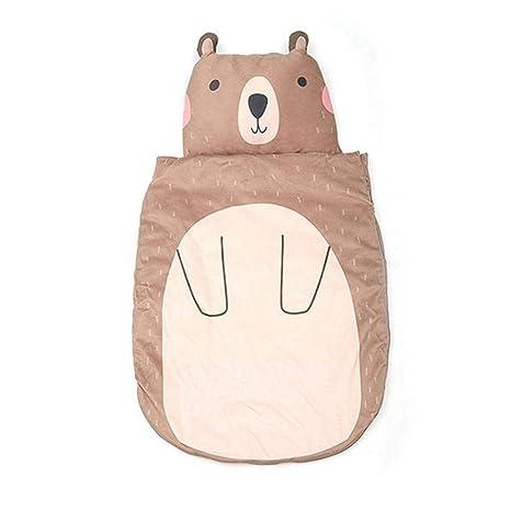 Womdee - Saco de Dormir para bebé (algodón Puro) marrón ...