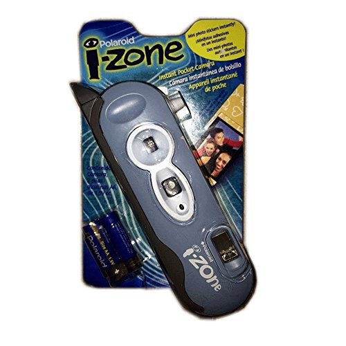 (Polaroid I-Zone Instant Pocket Camera Mini Photo Stickers Instantly!)