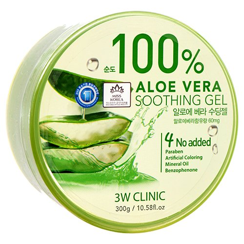 Price comparison product image Wholesale 3W ALOE VERA SOOTHING GEL 300G MADE IN KOREA
