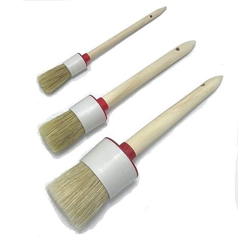 Amazon.com: Pincel de cera para pintura de tiza con brochas ...