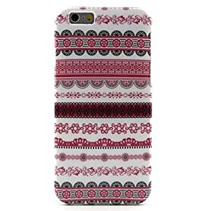 GJY Pink Tribal Lines Pattern TPU Soft Cover for iPhone 6