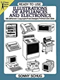 Ready-to-Use Illustrations of Appliances and Electronics: 98 Different Copyright-Free Designs Printed One Side (Dover Clip Art Ready-to-Use)