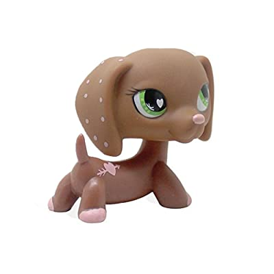 Vibola Action Figure Animal Cartoon Collie Dog Pet Collie Dog Child Girl Figure Toy: Toys & Games