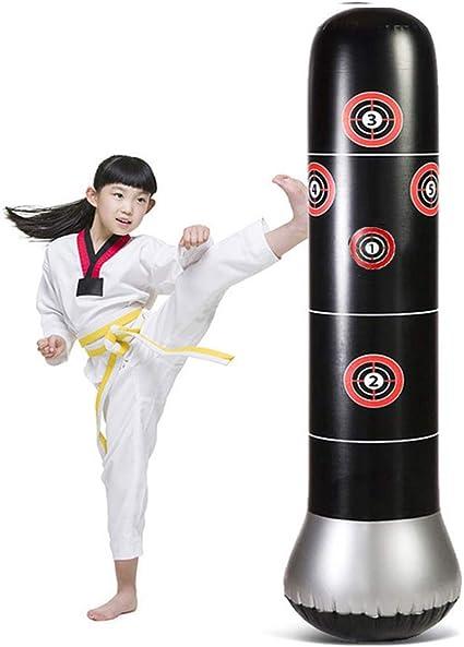 Amazon.com: CRRD - Saco de boxeo inflable para niños: Sports ...