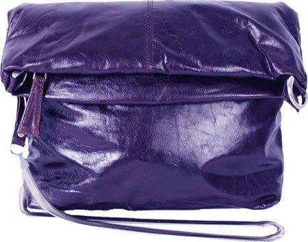 Irene Medium Mimi Foldover Convertible Crossbody Color: Navy Latico Leathers 444337-9463131