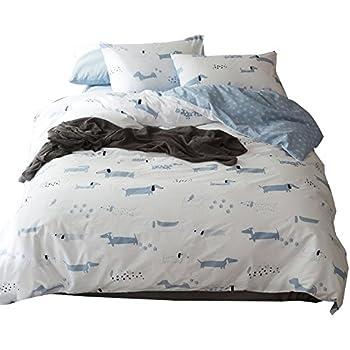 Amazon Com Lelva Dogs Bedding Set Teens Dachshund Print