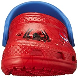 crocs Kids\' Classic Spider-Man Clog (Infant/Toddler/Little Kid) Red 6/7 M US Toddler