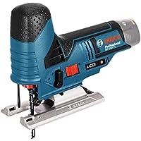 Bosch Professional Scie sauteuse sans-fil Gst 12V-70 Solo Click&Go L-Boxx 06015A1002, 10.8 V, Bleu