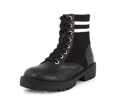 438fb3de534 Steve Madden Women's Hills Combat Boot