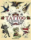 Tattoo Fun Coloring Book