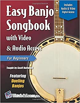 Amazon com: Easy Banjo Songbook for Beginners with Video