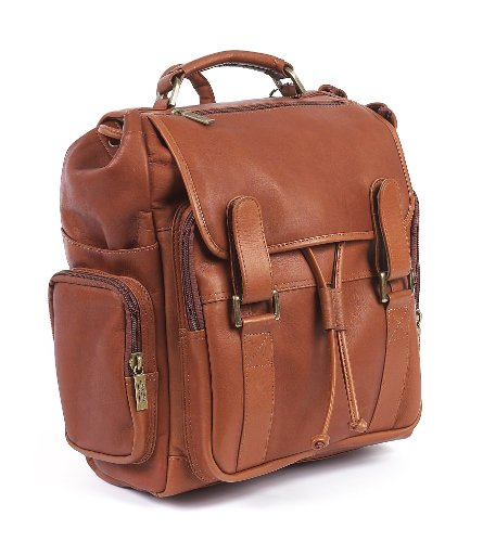 Claire Chase Sierra Backpack, Saddle, One Size ()
