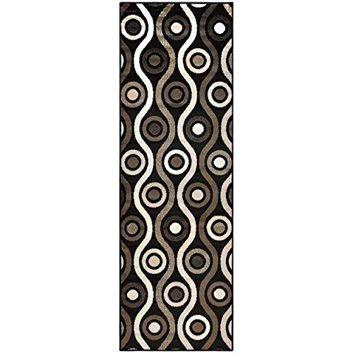 Superior Archer Collection Area Rug, 8mm Pile Height with Jute Backing,  Bold Modern Geometric Pattern, Fashionable and Affordable Rugs, 2
