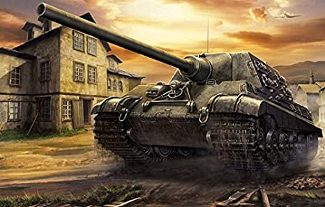 Amazon com: Da Bang Jagdtiger Ww2 War Tank Art #0235