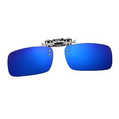 F Fityle Gafas de Sol con Clip Lentes Rectangulares Polarizadas para Viaje Senderismo Ciclimos
