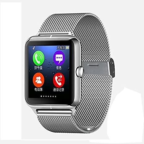 Amazon.com: Touchscreen Z50 Smart Watch Bluetooth 3.0 smart ...