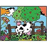 Colorvelvet M120 Disegno Mucca, 37 x 28 cm