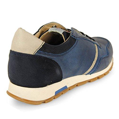 Wisconsin Sneaker Cordon Piel Iris