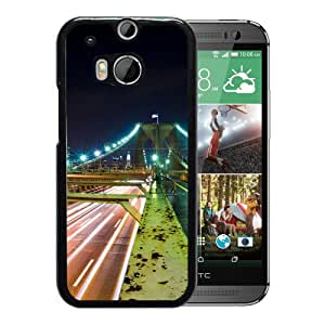 New Beautiful Custom Designed Cover Case For HTC ONE M8 With Road To America Phone Case