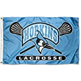 JHU Blue Jays Large Lacrosse 3x5 College Flag