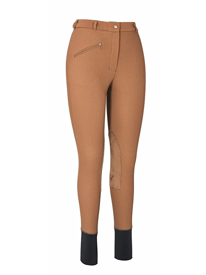 Steampunk Women's Pants, Leggings & Bloomers TuffRider Womens Ribb Knee Patch Breeches (Regular) $30.00 AT vintagedancer.com