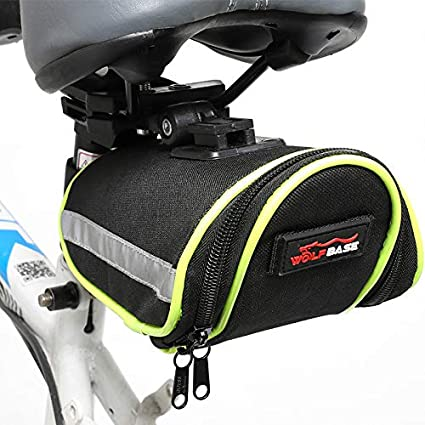 Amazon.com : Lywey Nylon Bicycle Bag Bike Waterproof Storage ...