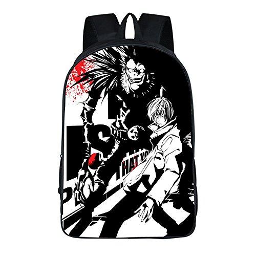 Siawasey Anime Death Note Cosplay Backpack Shoulder Bag Bookbag Daypack School Bag