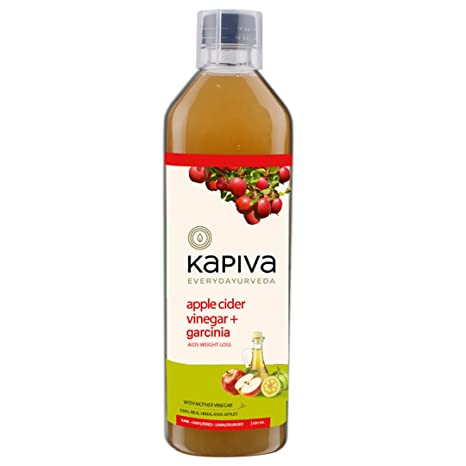 Kapiva Ayurveda Apple Cider Vinegar Garcinia With The Mother For Metabolism Weight Management 500ml