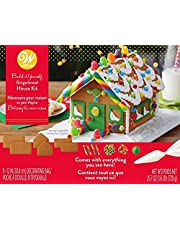 Wilton W46832 Unassembled Gingerbread House Kit, Petite