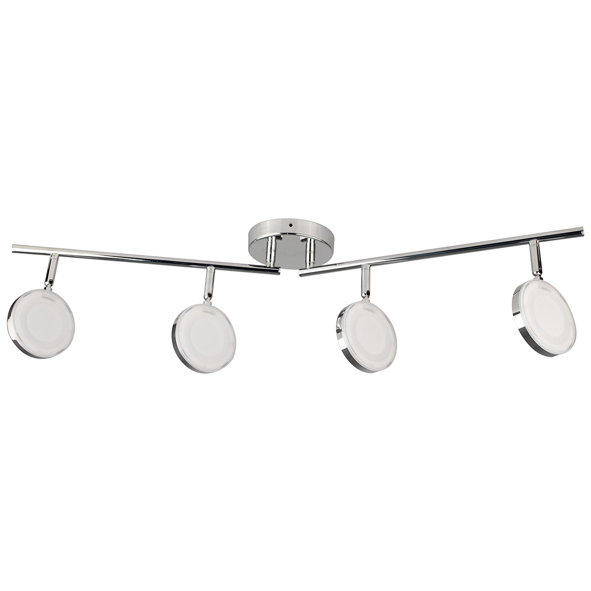 Bazz T170300CH Integrated Four Track Light, Chrome