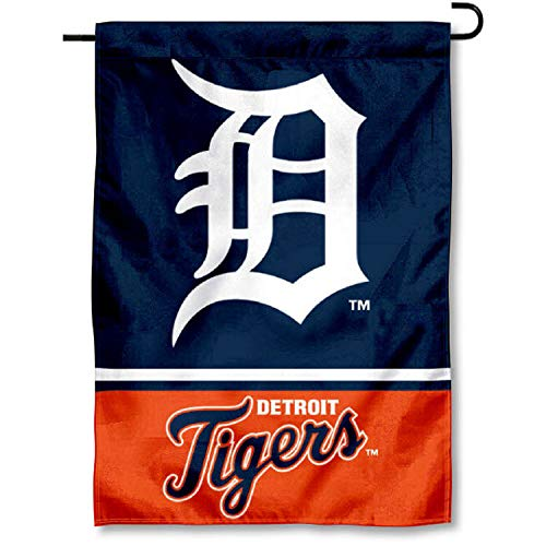 WinCraft Detroit Tigers Double Sided Garden Flag
