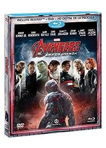 Avengers: Era de Ultrón [Blu-Ray + DVD]
