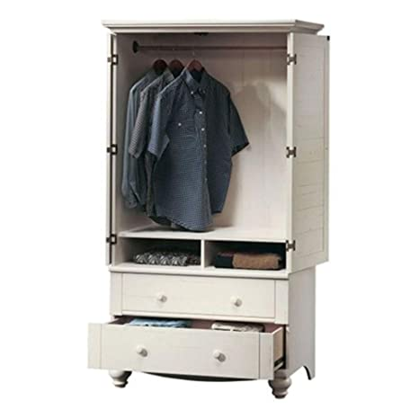 Amazon.com: Bedroom Wardrobe Cabinet Storage Armoire with ...