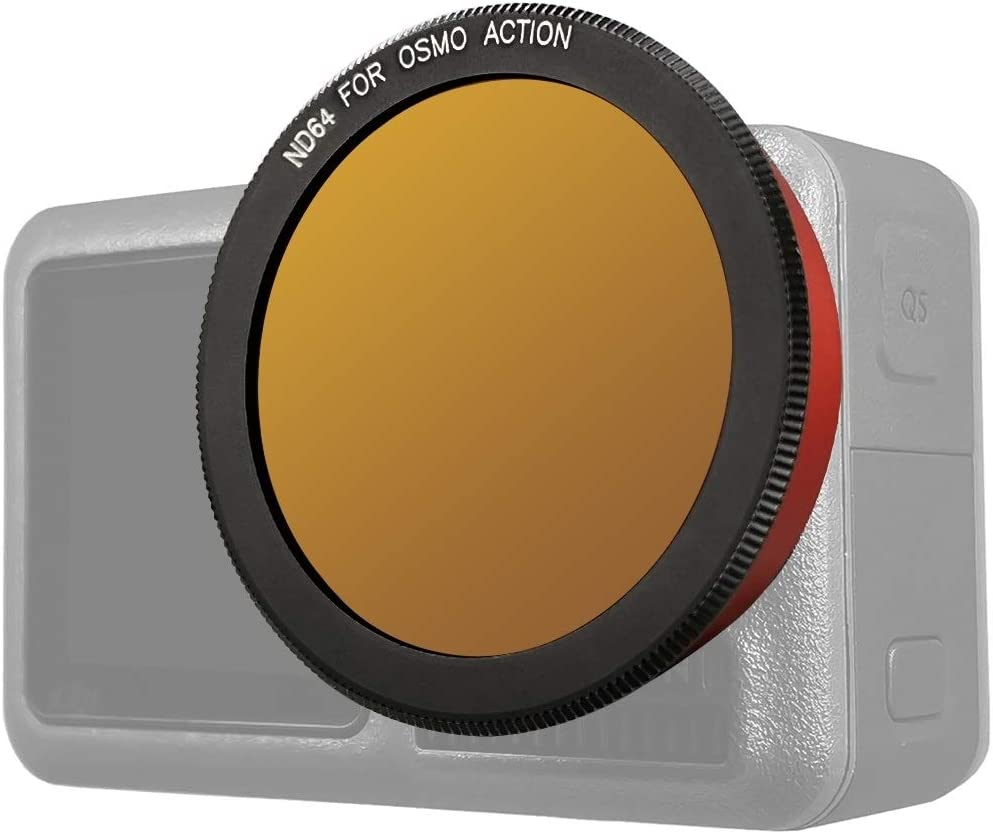 ND64 Lens Filter for DJI Osmo Action Durable