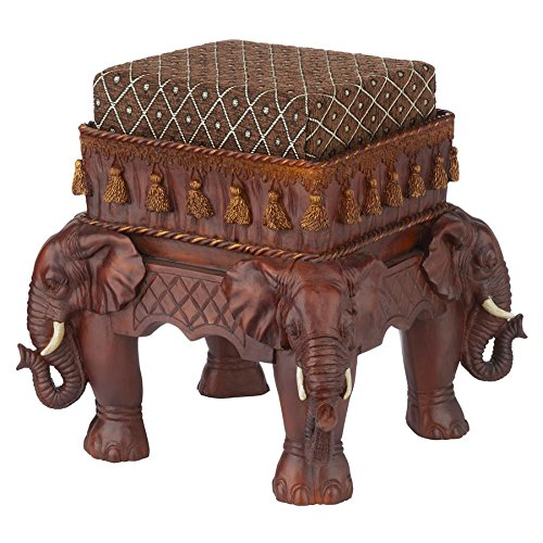 cute elephants footstool
