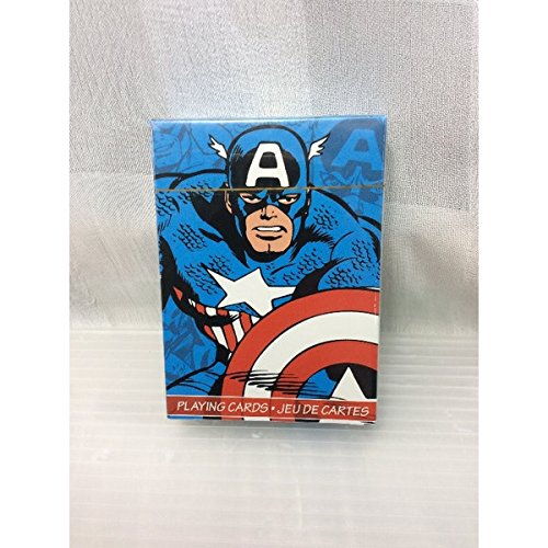 MARVEL <US>トランプ ( キャプテンアメリカ)アメリカンヒーローアメリカン雑貨アメリカ雑貨 アメ雑の商品画像