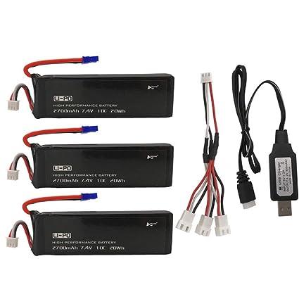 Amazon.com: Ktyssp Hubsan - Batería para H501S/CX4 Drone ...
