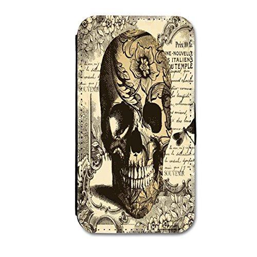 Handy Tasche Flip Book Etui Hülle Case Schutzhülle Design 2 Schutzhülle Handytasche Etui Case für Apple Iphone 5- Apple Iphone 5S