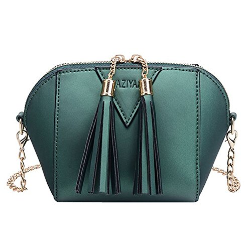 Moda Fiocco Verde Piccola Borsetta Donna Borsa Innerternet Spalla Tote nero HPWqB5tnxz