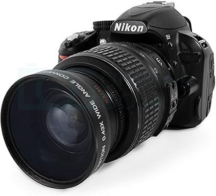 52 mm Vivitar 0,43 x gran angular de alta definición w/Macro ...
