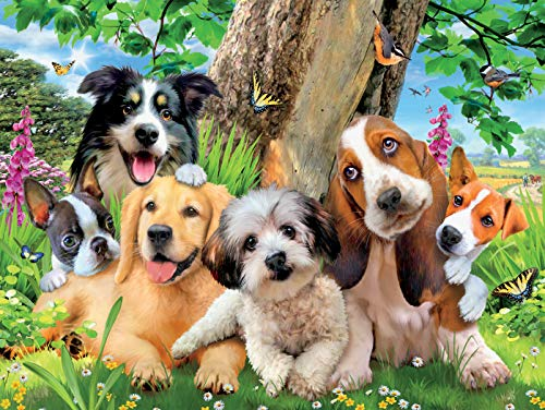 Howard Robinson -Harmony Collection - Puppy Pals Puzzle - 550 Pieces (Piece Puzzles 500 Dog)