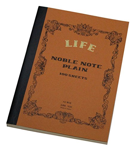 Life Noble Notebook - A5 - Plain (Life Notebook)