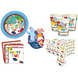 IN THE NIGHT GARDEN Essential Birthday Party Kit for 16 Guests