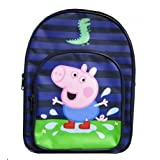 Character Peppa Pig George Dino 'Puddle' Blue Backpack