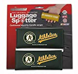 OAKLAND A's Luggage Spotter Suitcase Handle Wrap Bag Tag Locator with I.D. Pocket (SET OF 2) - CLOSEOUT! GREAT GIFT!