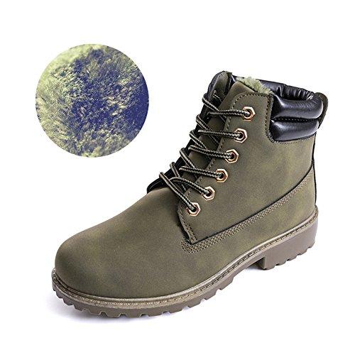 Desert Stivali Boot Con Boot Donna Cowboys Stivali Esterno Esercito Lavoro Stivali Fodera Scarpe Verde Classic da hibote xFCwn1q