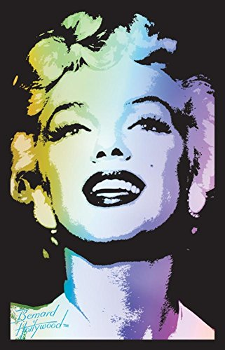 Marilyn Monroe Blacklight Blacklight Poster with Hanger