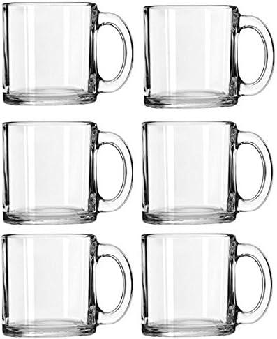 Libbey Crystal Coffee Mug Warm Beverage Mugs