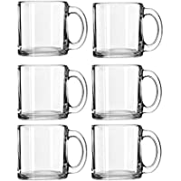 Libbey Crystal Coffee Mug Warm Beverage Mugs Set of (13 oz)
