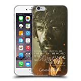 Official HBO Game Of Thrones Tyrion Lannister Character Portraits Soft Gel Case for Apple iPhone 6 Plus / 6s Plus